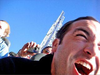 Roller coaster riding fellowship of the rich